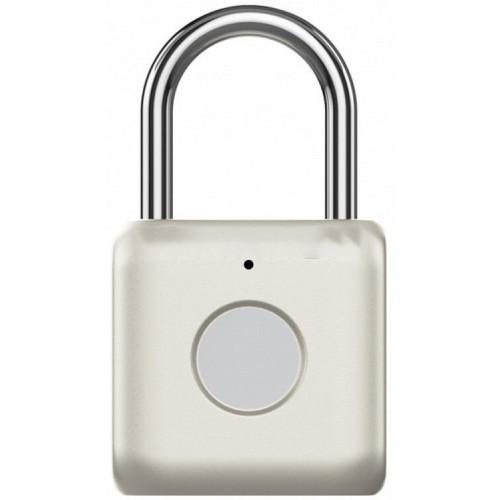 Сенсорный портативный замок Xiaomi UODI Smart Fingerprint Padlock (YD-K1) Gold