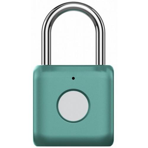 Сенсорный портативный замок Xiaomi UODI Smart Fingerprint Padlock (YD-K1) Green