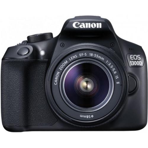 Фотоаппарат Canon EOS 1300D kit (18-55mm) EF-S IS II (Rebel T6) EU