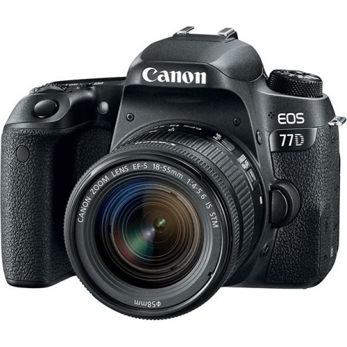 Фотоаппарат Canon EOS 77D kit (18-55mm) IS EU