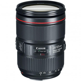 Объектив Canon EF 24-105mm f/4L II IS USM (1380C005) UA