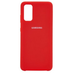 Силикон Soft Touch Samsung S20 Plus G985 (Red)