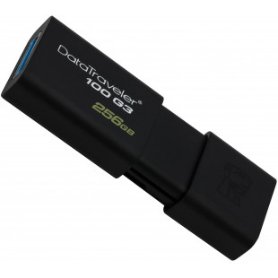 Флешка Kingston 256GB DT 100 G3 Black USB 3.0 (DT100G3/256GB)