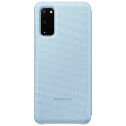 Чехол Samsung LED View Cover для смартфона Galaxy S20 (G980) Sky Blue