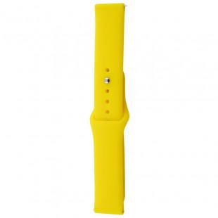 Ремешок Xiaomi Amazfit/Samsung Sport Band 20 mm Yellow