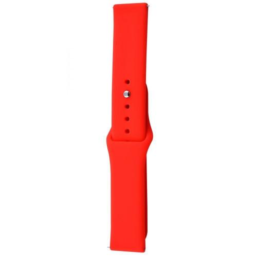 Ремешок Xiaomi Amazfit/Samsung Sport Band 20 mm Red