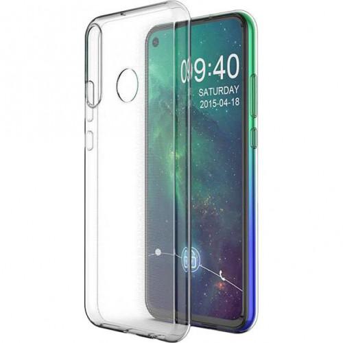 Силиконовый чехол Huawei  P40 Lite E 2020 (Clear)