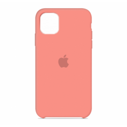 Чехол Apple Silicone Case Begonia (HC) для iPhone 11