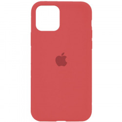 Чехол Apple Silicone Case Camellia Red (HC) для iPhone 11