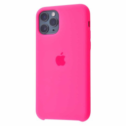 Чехол Apple Silicone Case Bright Pink (HC) для iPhone 11 Pro