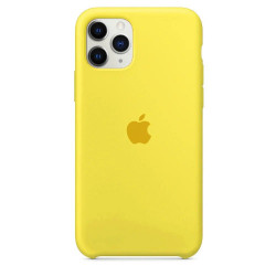 Чехол Apple Silicone Case Canary Yellow (HC) для iPhone 11 Pro