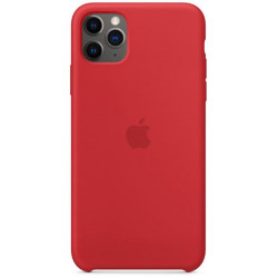 Чехол Apple Silicone Case China Red (HC) для iPhone 11 Pro