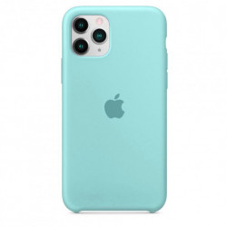 Чехол Apple Silicone Case Ice Sea Blue (HC) для iPhone 11 Pro