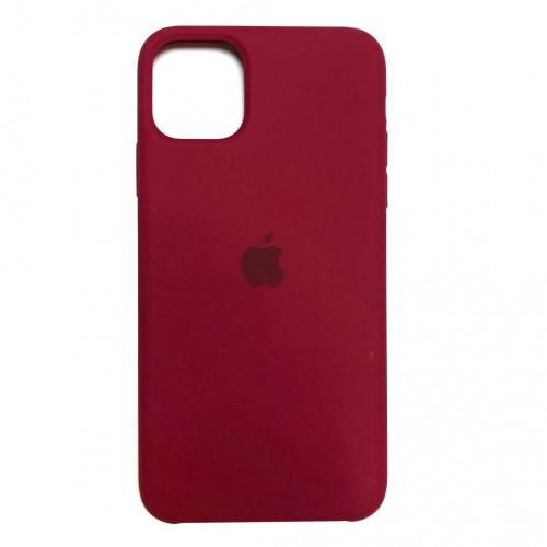 Чехол Apple Silicone Case Rose Red (HC) для iPhone 11 Pro Max