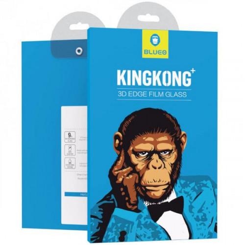 Защитное стекло 3D IPhone 7 / 8 / SE 2020 (Black) Corning Gorilla Glass Blueo