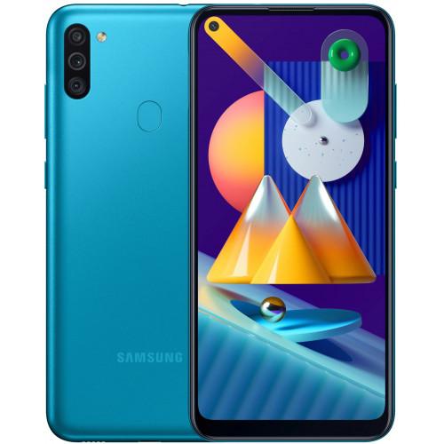 Samsung Galaxy M115 M11 3/32GB Blue (SM-M115FMBN) UA