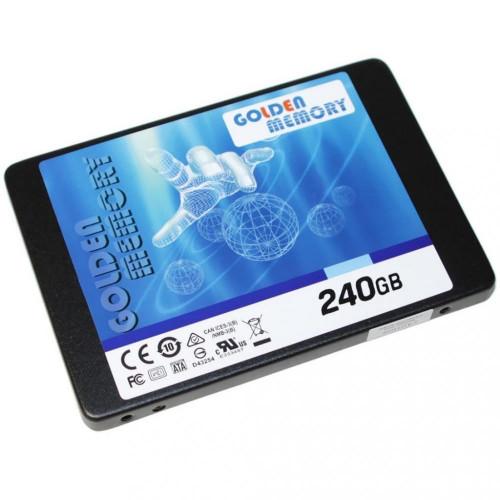 Накопитель SSD 240G 2.5″ SATA3 GOLDEN MEMORY 7mm (AV240CGB)