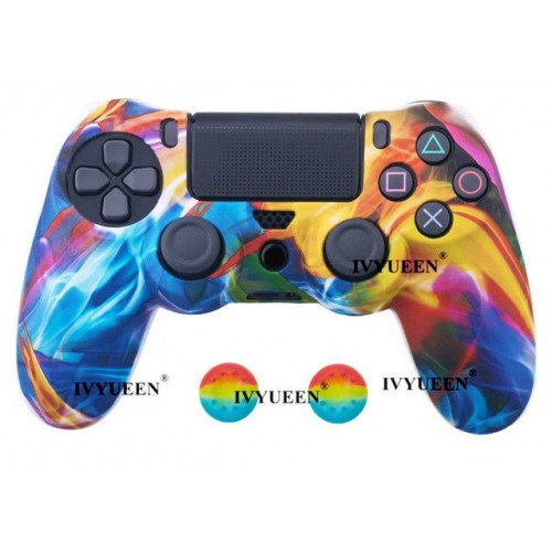 Чехол для Sony PS4 Dualshock 4 (Graffiti K)