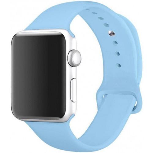 Ремешок Apple Watch 38/40mm Sport Band (S/M & M/L) Light Blue