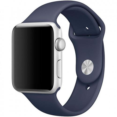 Ремешок Apple Watch 38/40mm Sport Band (S/M & M/L) Midnight Blue