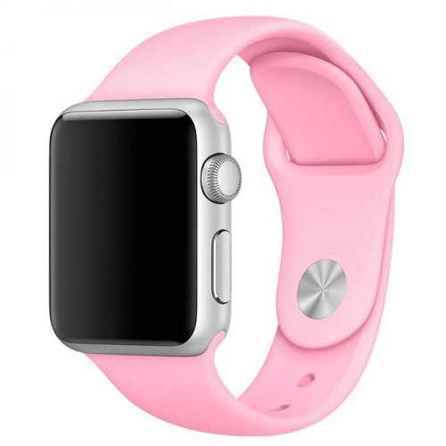 Ремешок Apple Watch 38/40mm Sport Band (S/M & M/L) Pink