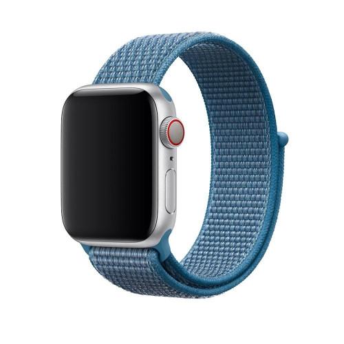 Ремешок Apple Watch 38/40mm Sport Loop (Denim Blue)