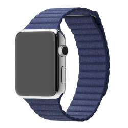 Ремешок Apple Watch 38/40mm Leather Loop Midnight Blue