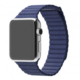 Ремешок Apple Watch 38/40mm Leather Loop Midnight Blue