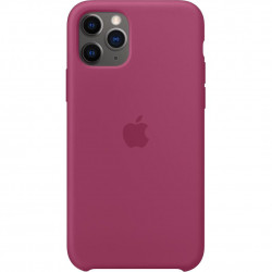 Чехол Apple iPhone 11 Pro Silicone Case - Pomegranate (MXM62)