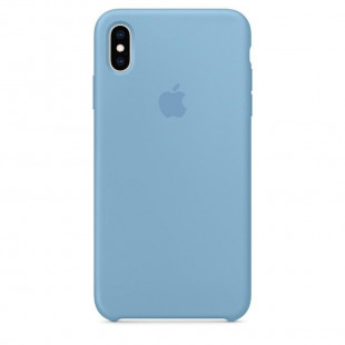 Силиконовый чехол Apple Silicone Case Cornflower (1:1) для iPhone XS Max