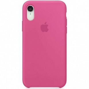 Силиконовый чехол Apple Silicone Case Dragon Fruit (1:1) для iPhone XS