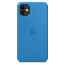 Чехол Apple Silicone Case Surf Blue (1:1) для iPhone 11 Pro