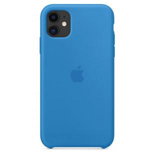 Чехол Apple Silicone Case Surf Blue (1:1) для iPhone 11 Pro Max