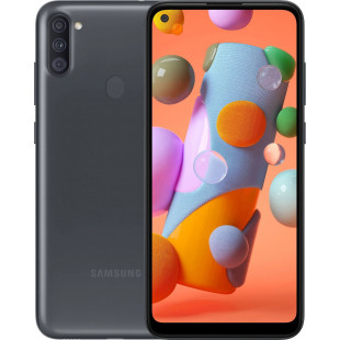 Samsung Galaxy A11 2019 SM-A115F 2/32GB Black (SM-A115FZKNSEK) UA