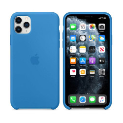 Чехол Apple iPhone 11 Pro Silicone Case - Surf Blue (MY1F2)