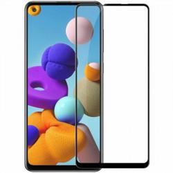 Защитное стекло 5D Samsung Galaxy A21S (Black)