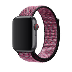 Ремешок Apple Watch 42mm/44mm Nike Sport Loop Pink Blast/True Berry (MWU42)