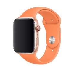 Ремешок Apple Watch 42mm/44mm Sport Band - S/M & M/L - Papaya (MV772)