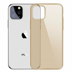 Силиконовый чехол Baseus Simple Apple iPhone 11 Pro (Gold)