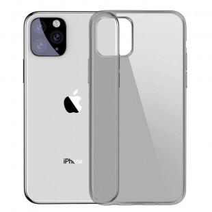 Силиконовый чехол Baseus Simple Apple iPhone 11 Pro Max (Black)