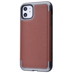 Накладка Defense Prime Series (Metal+TPU) Apple IPhone 11 (Brown)
