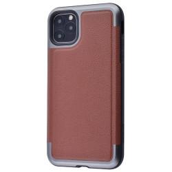Накладка Defense Prime Series (Metal+TPU) Apple IPhone 11 Pro (Brown)