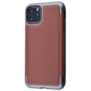 Накладка Defense Prime Series (Metal+TPU) Apple IPhone 11 Pro Max (Brown)