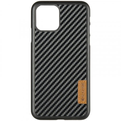 Карбоновая накладка G-Case Dark series Apple iPhone 11 Pro (Black)