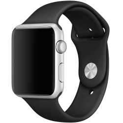 Ремешок Apple Watch 42mm/44mm Sport Band - M/L & X/L - Black (MU9L2)