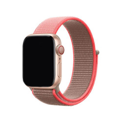 Ремешок Apple Watch 42mm/44mm Sport Loop Neon Pink  (MXMU2)