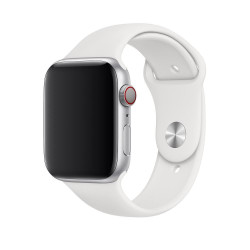 Ремешок Apple Watch 42mm/44mm Sport Band - S/M & M/L - White (MTPK2)