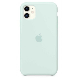 Чехол Apple Silicone Case Seafoam (1:1) для iPhone 11 Pro Max