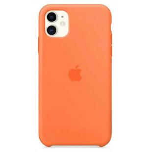 Чехол Apple Silicone Case Vitamin C (1:1) для iPhone 11 Pro Max