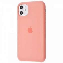 Чехол Apple Silicone Case Peach Pink (HC) для iPhone 11